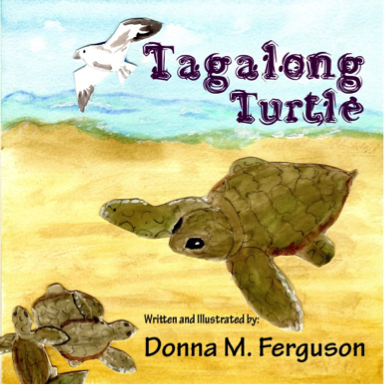 Tagalong Turtle book cover by Donna Ferguson